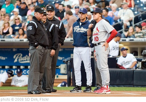 'Tony La Russa and Bud Black pregame' photo (c) 2008, SD Dirk - license: http://creativecommons.org/licenses/by/2.0/