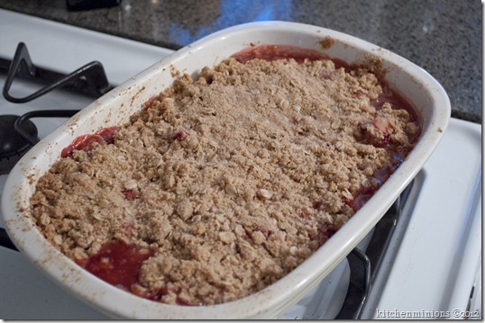 strawberry rhubarb crisp6