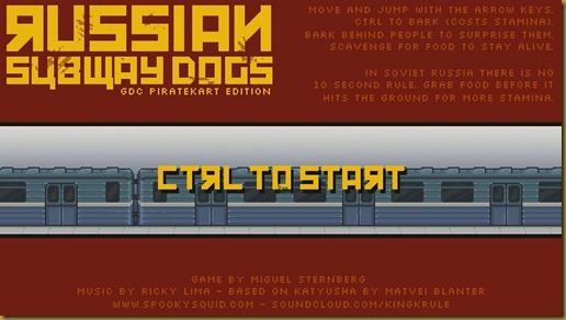 Russian Subway Dogs タイトル