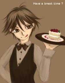 – ケーキはいかが?おいしいよ!