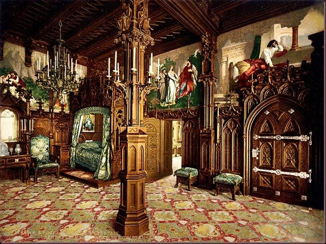 Joseph_Albert_Neuschwanstein_bedroom