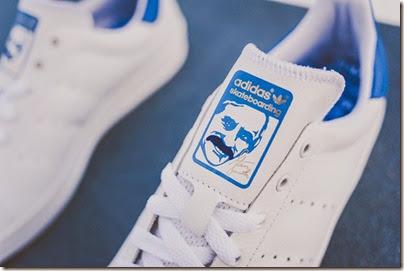 adidas Originals Stan Smith Vulc White Royal (sneakerpolitics) 03