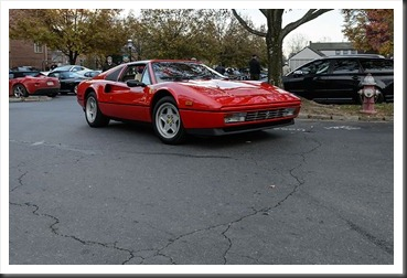 Katie's Cars and Coffee - Ferrari