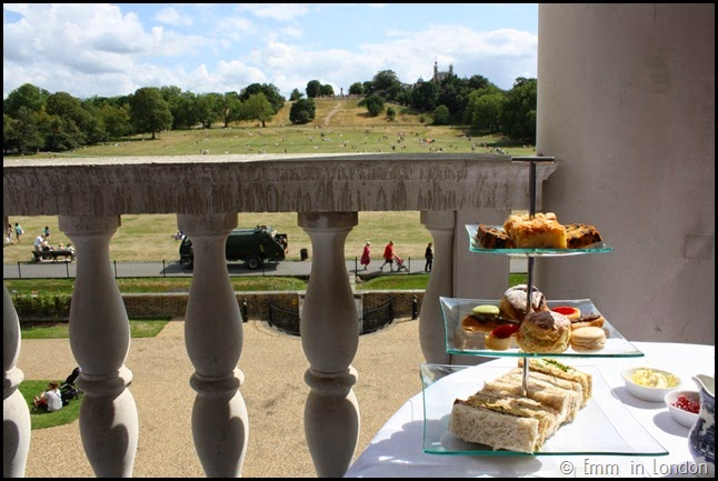 Afternoon tea with a view at the Queen's House