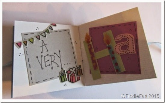 Its All Fiddle Fart Mini 50th Birthday Cardbook