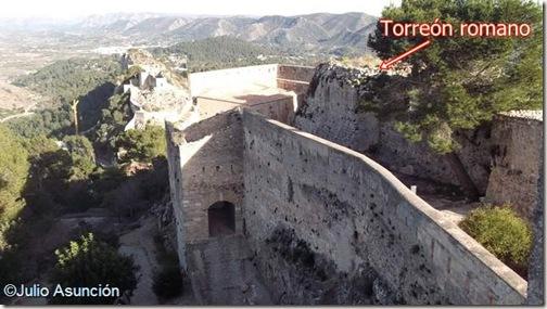 Castillo mayor y torre romana - Játiva