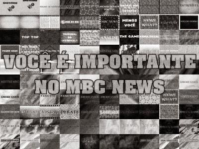 VOCÊ É IMPORTANTE NO MBC NEWS