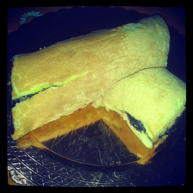 cake roll-pasta biscotto per rotolo