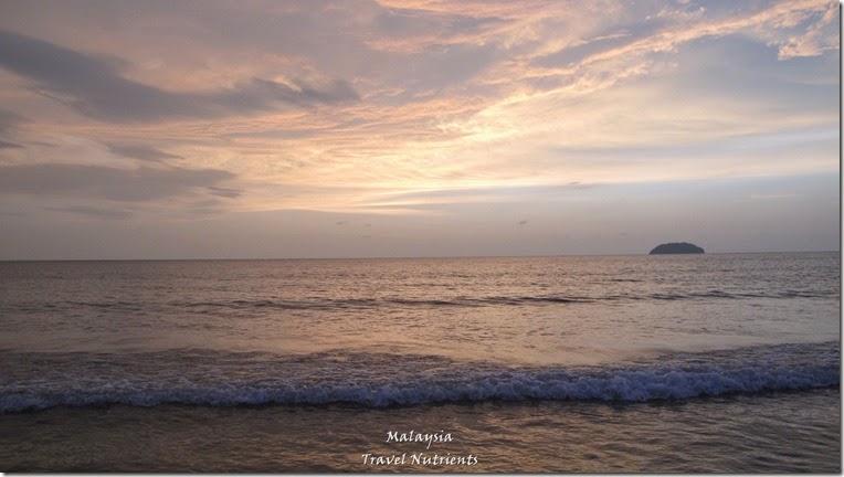 沙巴亞庇丹容亞路海灘夕陽 Perdana Park音樂水舞 (12)