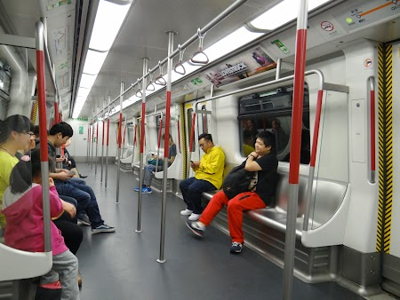 Spre Lantau: Metro Hong Kong