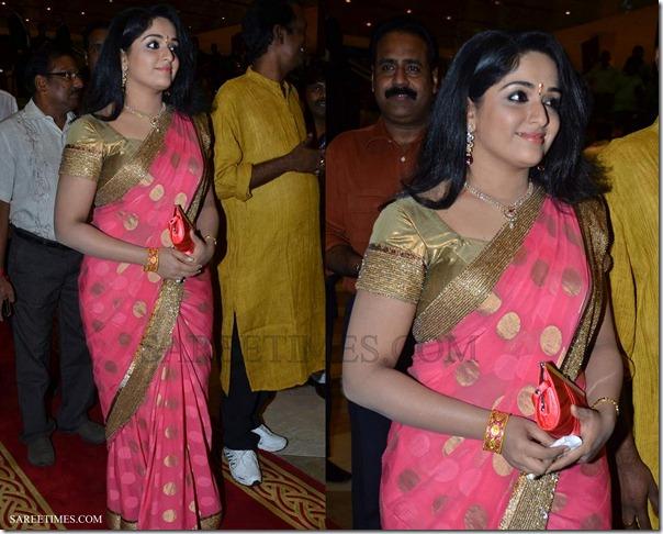 Kavya_Madhavan_Pink_Saree