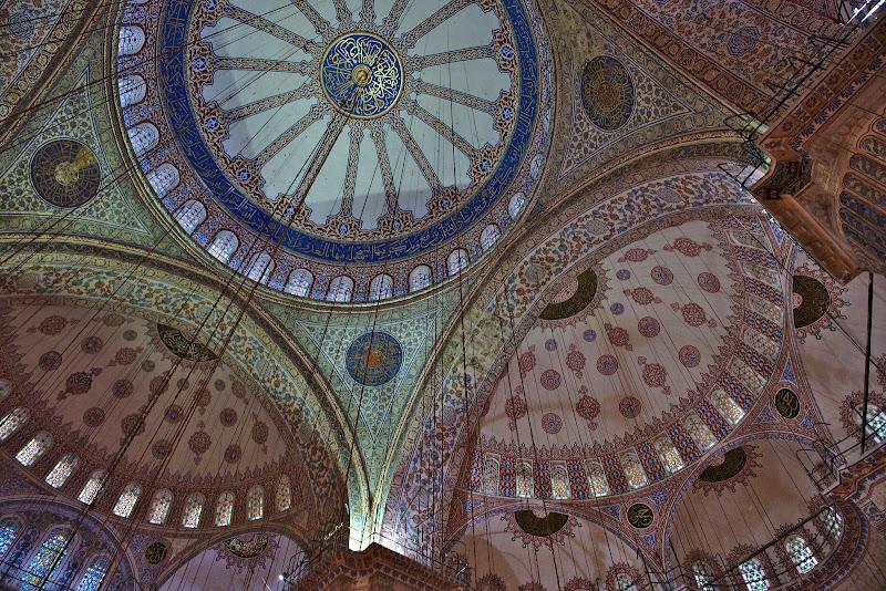 Moscheea albastra.