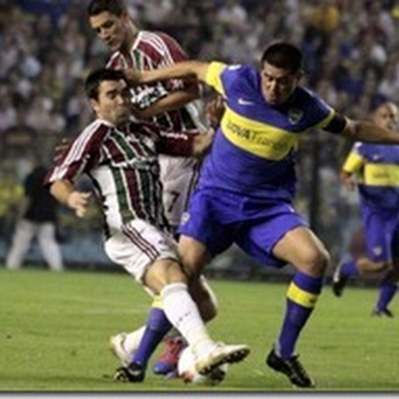 Formaciones de Fluminense vs Boca Juniors