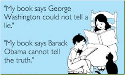 obama washington lie