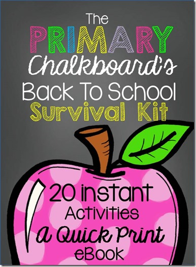 Oh my gosh the freebies in this ebook are amazing-Just print and use all 20 for the smoothest back to school ever
