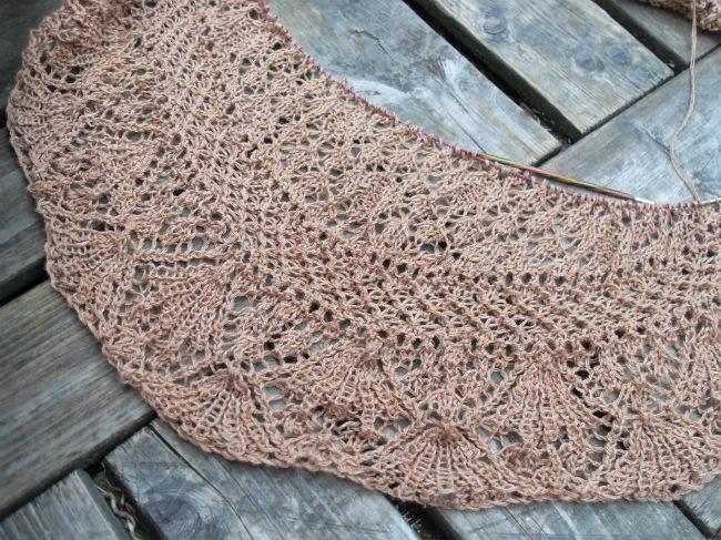 Endnu et mystery shawl