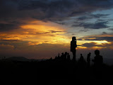 Sunrise at the summit of Gunung Muria (Daniel Quinn, June 2010)