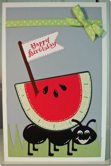 my paper crafting com  cwc  39 watermelon challenge