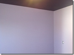 after painted walls