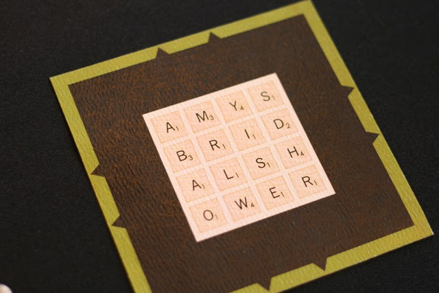 scrabble bridal shower