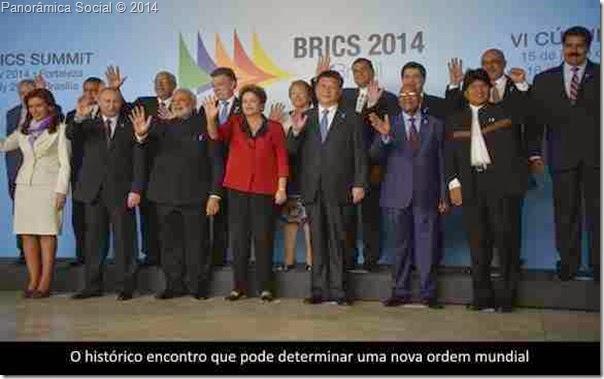 Encontro BRICS UNASUL