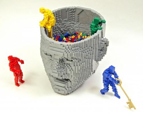 escultura Legos 05