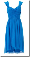 Blue Grecian Style Dress