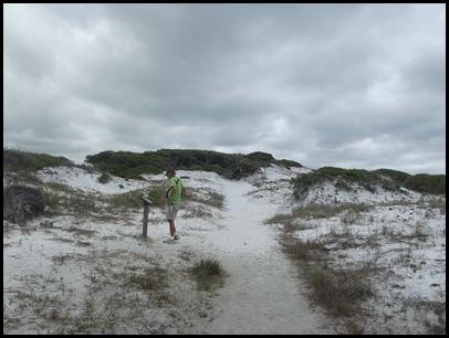 Dune hike & rain paddle 018