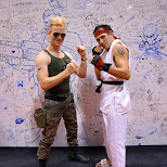 Guile & Ryu at Fanexpo 2014 in Toronto, Ontario, Canada