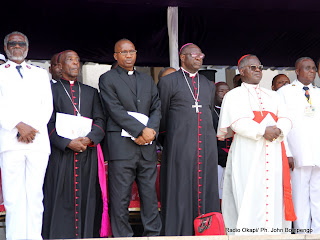 Des représentants religieux le 11/3/2012 à Brazzaville. Radio Okapi/ Ph. John Bompengo