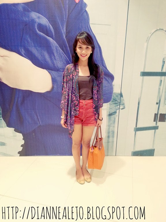 kimono, forever 21, pull and bear, longchamp, posh pocket shoes, tank top, philippines, asia, outfit