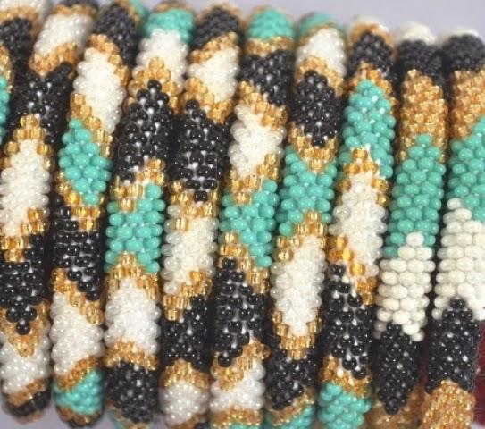 rollover Green series bracelets