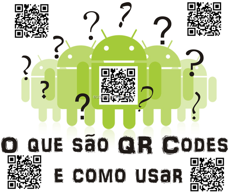 O que so QR Codes e como usar eusouandroid