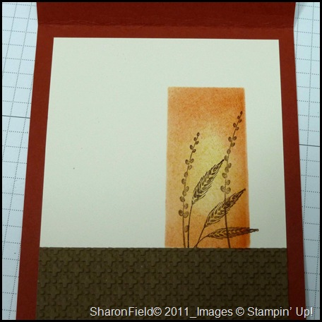 Our Creative Corner, OCCC, Challenge, Created by You, Sharon Field, Autumn Days, trinkets, wednesday card club, club, cards, masking, splitcoaststampers, layered window, tutorial, technique, tips, blog candy, comments