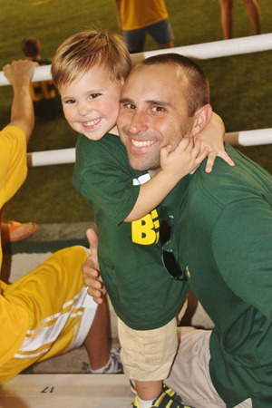 Nash's 1st day of School & Baylor Game 087