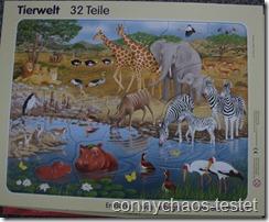 Puzzle Tierwelt