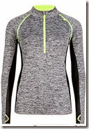 Marks and Spencer Quick Dry Half Zip Sweat Top