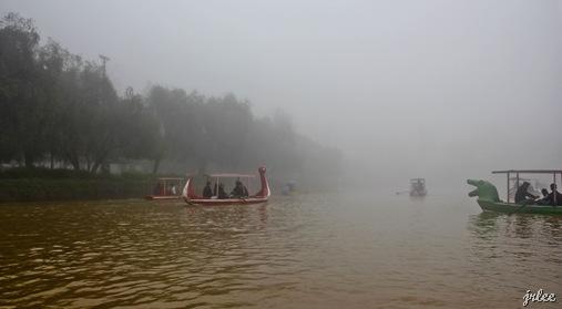 boat ride @ camp john hay