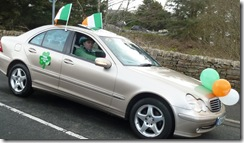 parade irish car