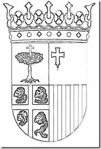 escudo-piedra-aragón colorear