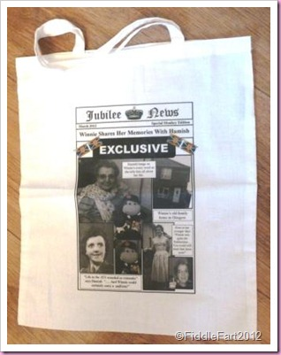 Newspaper Shopping bag
