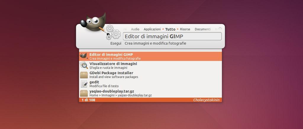 Synapse in Ubuntu Linux