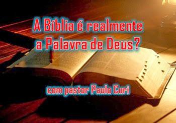 a bíblia é a palavra de Deus - Igreja Em Ação