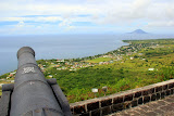 Looking Over The Island of St. Kitts At Brimstone Hill - Basseterre, St. Kitts