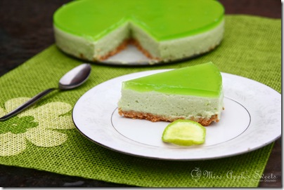 lime mousse pie