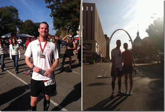 done running