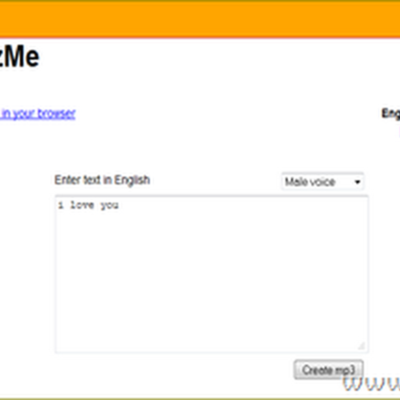 เปลี่ยนไฟล์เอกสาร Text เป็นไฟล์เสียง mp3 แบบไม่ง้อโปรแกรม