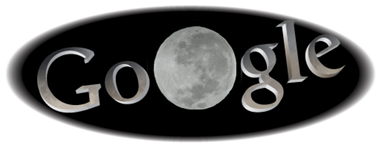 Total Lunar Eclipse-Google Logo