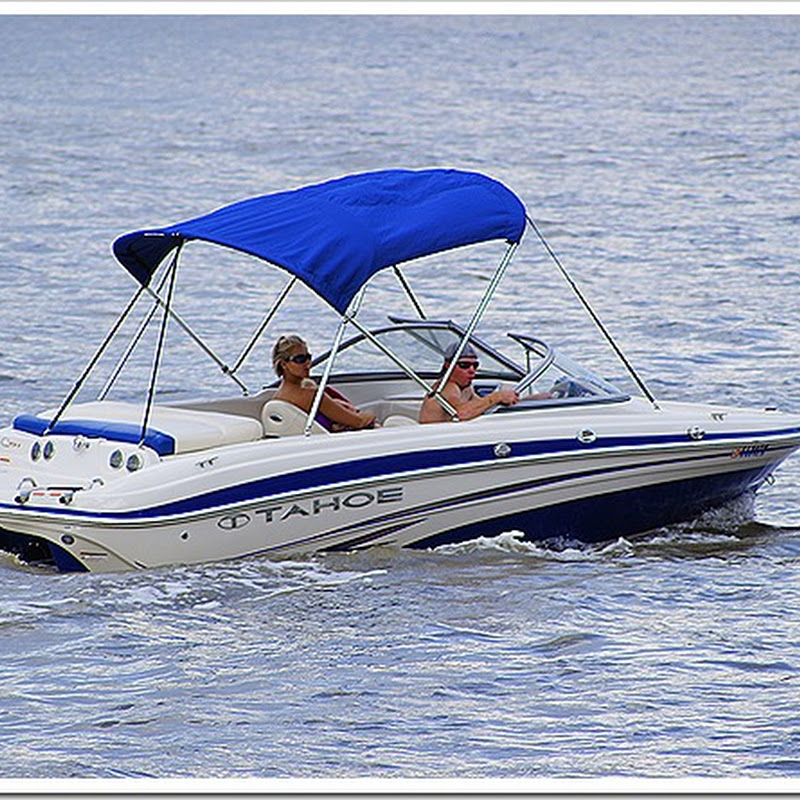 Speed boat stock photo