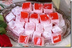 cara membuat Turkish delight